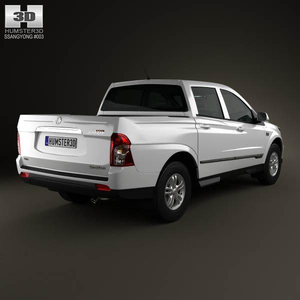 SsangYong Korando Sports (New Actyon) 2012 3d model