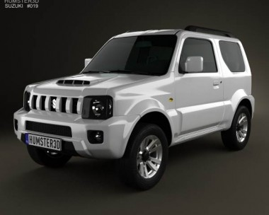 3D model of Suzuki Jimny 2013