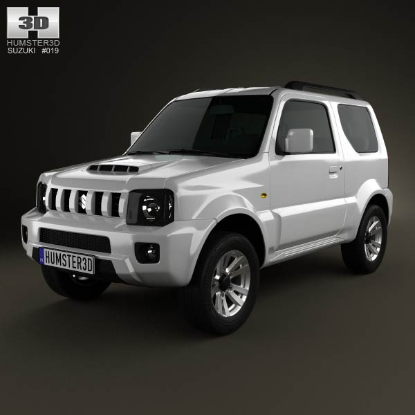 Suzuki Jimny 2013 3d car model