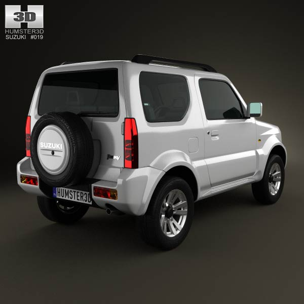 Suzuki Jimny 2013 3d model