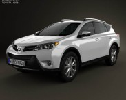 3D model of Toyota RAV4 2013