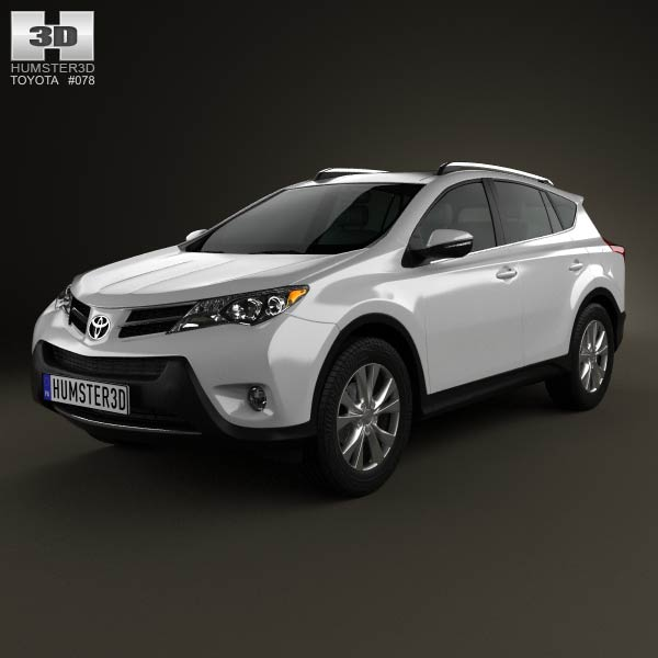 Toyota RAV4 2013 3d car model