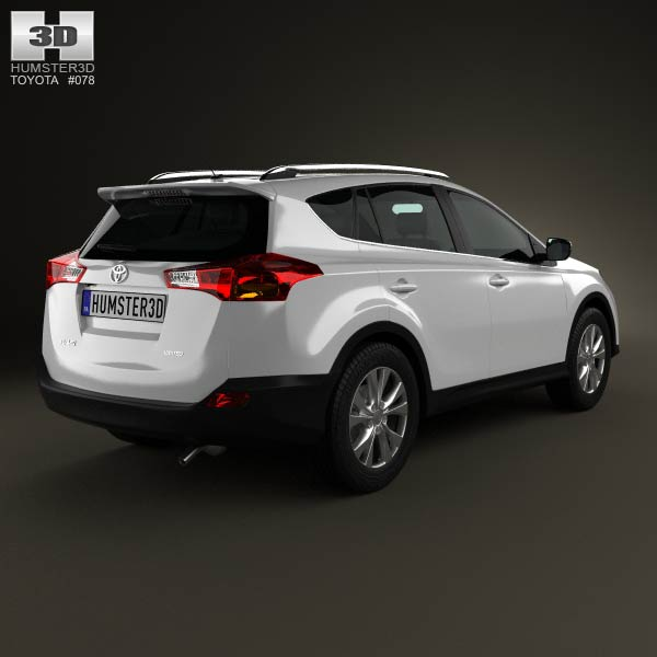 Toyota RAV4 2013 3d model