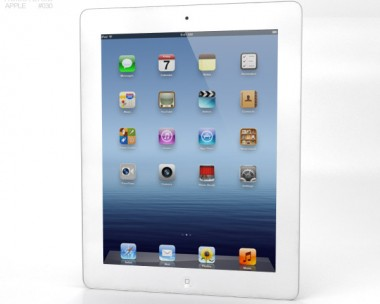 3D model of Apple iPad 4 WiFi