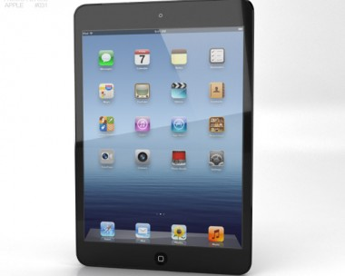 3D model of Apple iPad Mini Cellular