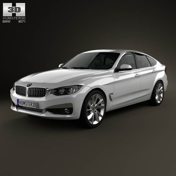 BMW 3 Series Gran Turismo (F34) 2013 3d car model