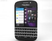 3D model of BlackBerry Q10