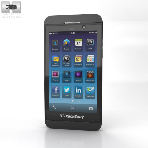 BlackBerry Z10 3d model