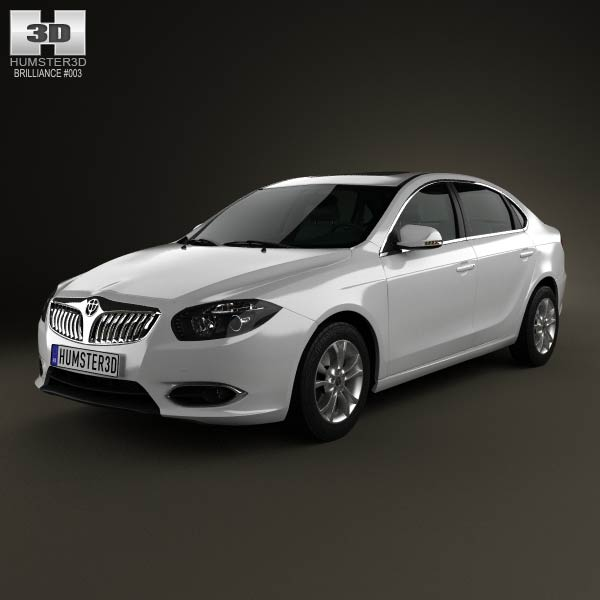 Brilliance H530 2012 3d car model