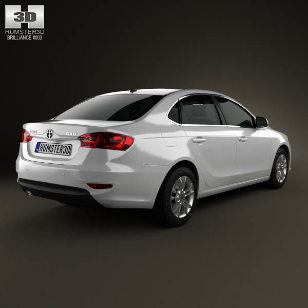 Brilliance H530 2012 3d model