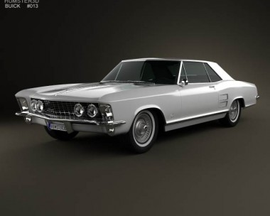 3D model of Buick Riviera 1963
