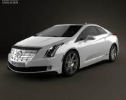3D model of Cadillac ELR 2014