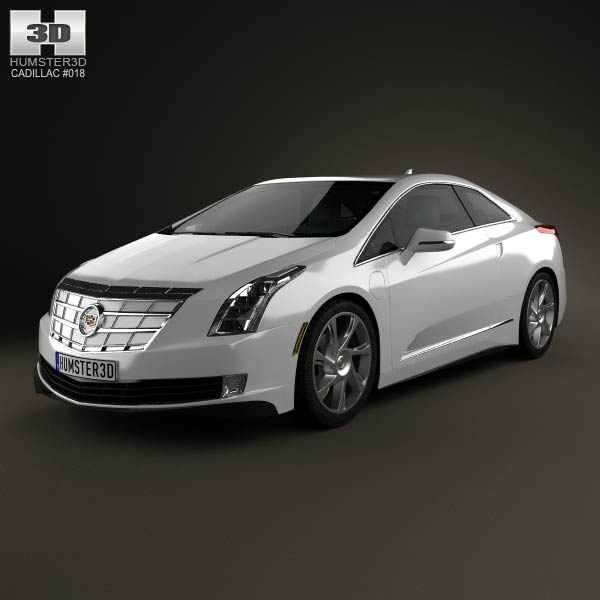 Cadillac ELR 2014 3d car model