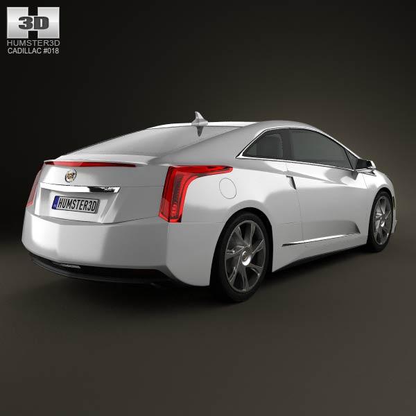Cadillac ELR 2014 3d model