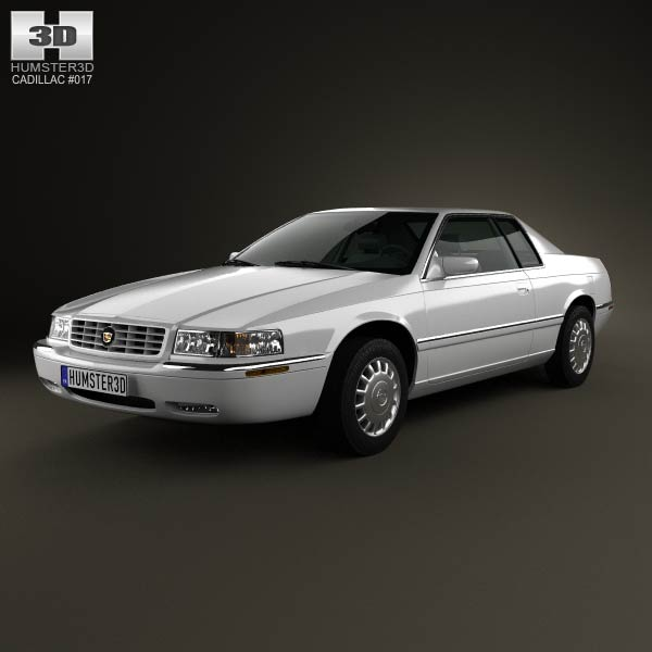 Cadillac Eldorado 2002 3d car model