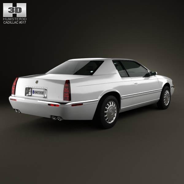 Cadillac Eldorado 2002 3d model