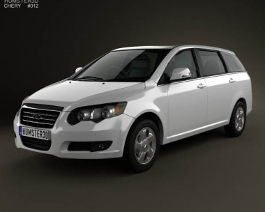 3D model of Chery Eastar Cross (V5) 2012