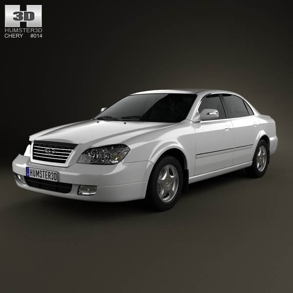Chery Eastar 2010 3d car model