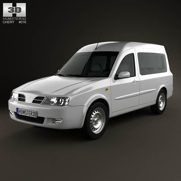 Chery Karry (A18) 2012 3d car model