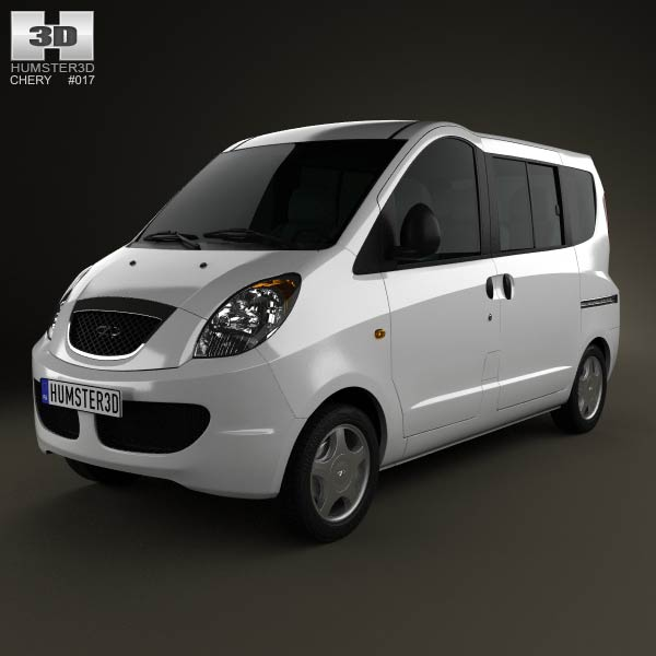 Chery Riich II (S22) 2012 3d car model