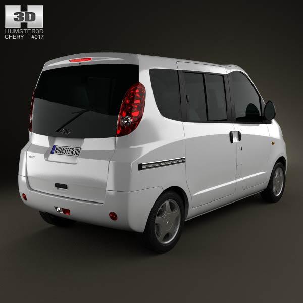 Chery Riich II (S22) 2012 3d model