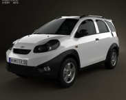 3D model of Chery IndiS (X-Cross) 2012
