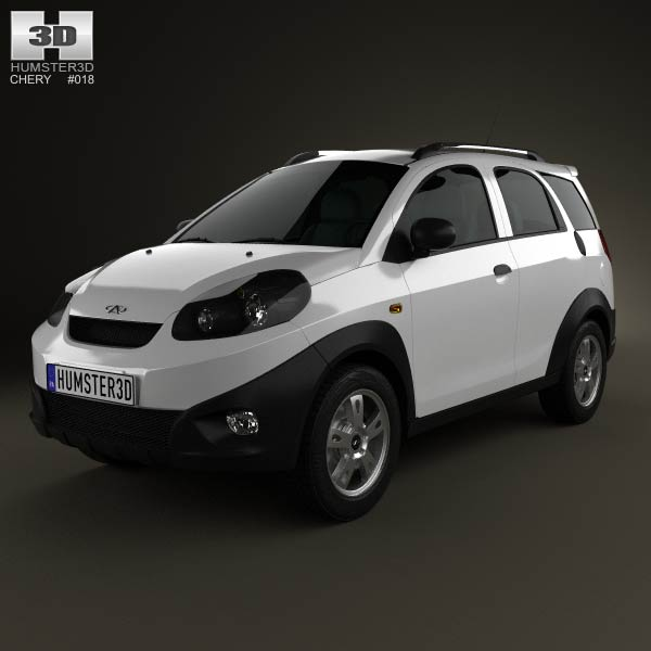 Chery IndiS (X-Cross) 2012 3d car model
