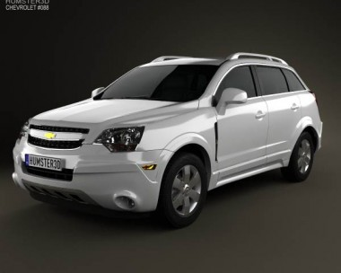 3D model of Chevrolet Captiva (Brazil) 2012