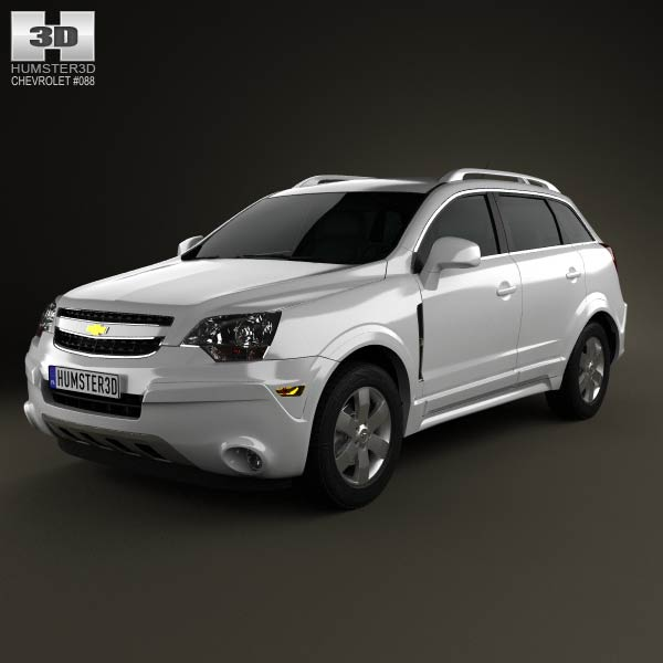 Chevrolet Captiva (Brazil) 2012 3d car model