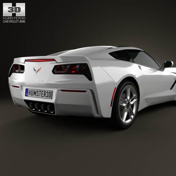 C7 Corvette Stingray Model