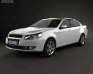 3D model of Chevrolet Epica (CN) 2012