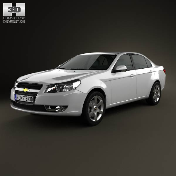 Chevrolet Epica (CN) 2012 3d car model