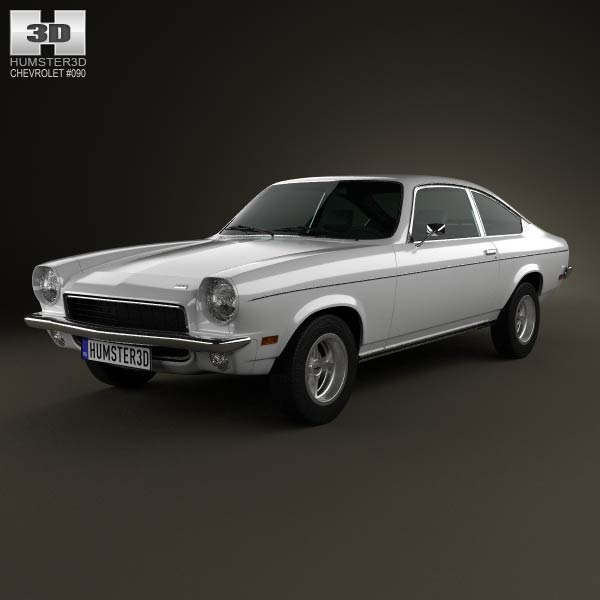 Chevrolet Vega hatchback 1971 3d car model