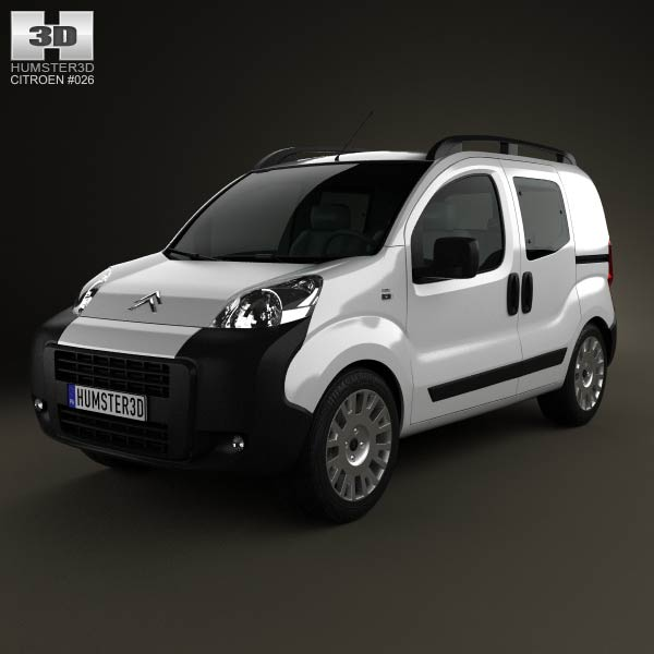 Citroen Nemo Combi 2011 3d car model