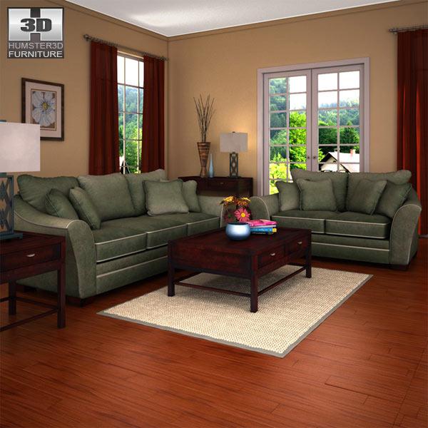 Bradington Truffle Loveseat By Ashley Furniture Ashley Furniture Images F