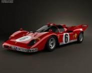 3D model of Ferrari 512 S 1970