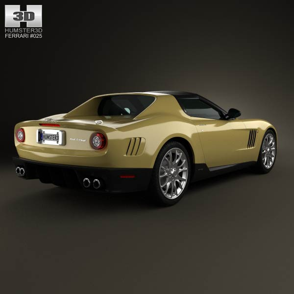 Ferrari P540 Superfast Aperta 2010 3d model