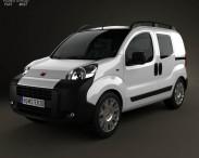 3D model of Fiat Fiorino Combi 2011
