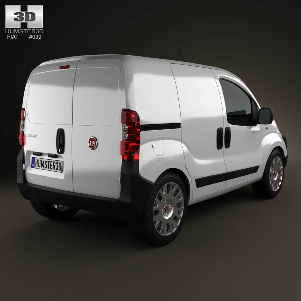 Fiat Fiorino Panel Van 2011 3d model