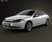 3D model of Ford Cougar 2002