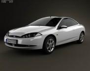 3D model of Ford Cougar 2002
