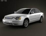 3D model of Ford Five Hundred 2007
