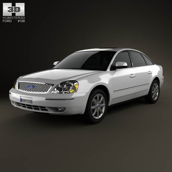 Ford Five Hundred 2007 3d car model