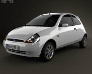 3D model of Ford Ka 2003