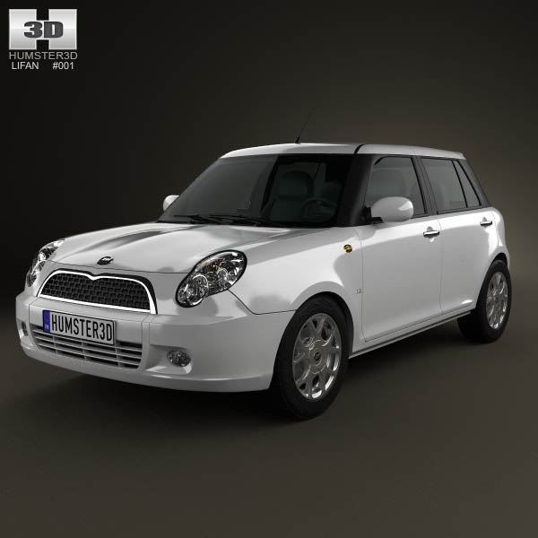 Lifan 320 (Smiley) 2012 3d car model