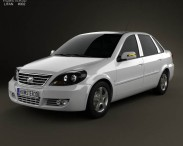 3D model of Lifan Breez (520) sedan 2012