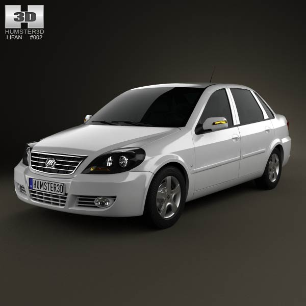 Lifan Breez (520) sedan 2012 3d car model