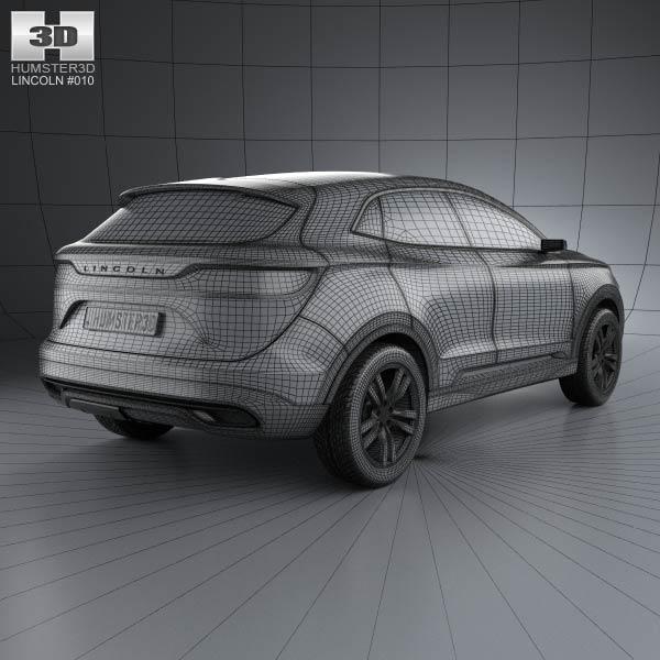 Lincoln MKC 2013 3d car model