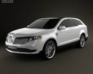 3D model of Lincoln MKT 2013