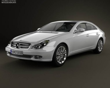 3D model of Mercedes-Benz CLS-Class (C219) 2006